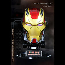 IMAGINARIUM Iron Man 3 Heartbreaker Mark 17 Life Size Helmet Replica Marvel SEAL