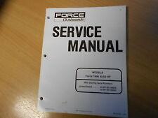 Tienda Reparación manual de servicio Motores fuera de borda Force 40/50 HP 96