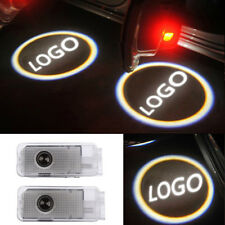 2X LED Door Welcome Projector Logo Light For Peugeot 206 306 307 406 407 508 607