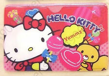 Sanrio Hello Kitty Yummy candy 1 pocket ID travel Business card holder