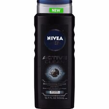 Nivea Men Active Clean Body Wash 16.9oz