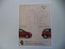 advertising Pubblicità 2004 LANCIA YPSILON