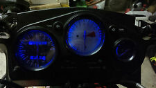 Azul Honda cbr600f3 95 98 LED Dash Kit de conversión de Reloj lightenupgrade