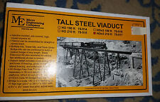 HOn3 Scale Tall Steel Viaduct 210 foot NIB Micro Engineering Co 75-517