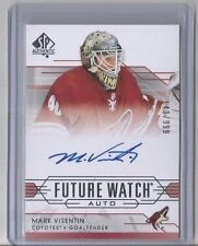 14-15 SP AUTHENTIC FUTURE WATCH MARK VISENTIN ROOKIE AUTO COYOTES 143/999