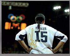 Candace Parker Los Angeles Sparks USA Signed 11x14 Photo with LOM COA  CP11