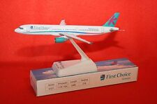 1ST CHOICE AIRBUS A321 PLASTIC PUSH FIT MODEL WITH STAND 1-200 SCALE