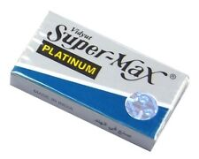 Super Max Double Edge Razor Blades - Stainless Blades 100 pcs Barber Supplies