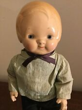 1929 Horsman Composition Boy Doll Peterkins Doll