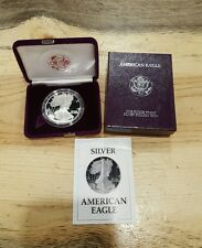 1987-S American Eagle One Ounce Proof Silver Coin (w/Box & CoA) Free Shipping!!