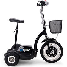 affordable 3 wheeled battery operated 350w electric personal transporter scooter