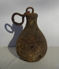 Antique Cast Iron 6.9lb Hanging Balance Weight for Scale Cotton Grain or Anchor?