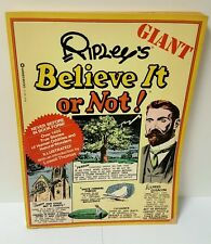 REDUCED Vintage Giant Ripleys Believe it or Not 76' Paperback, Novelty Gifts