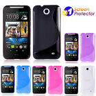 S CURVE GEL TPU Jelly CASE COVER FOR Telstra HTC Desire 310