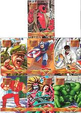 Mission: Annihilation Affair Sub-set 7 x Marvel Overpower Trading Cards Game HTF