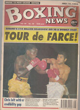 Vintage Boxing News July 94, Chris Eubank v Mauricio Amaral report