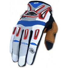 UFO  Off Road MX Motocross - Enduro Gloves Red/White/Blue Small