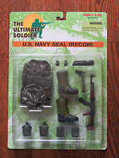 "Ultimate Soldier 1/6 12"" Navy Seal Recon Accessories Set New on Sealed Card"