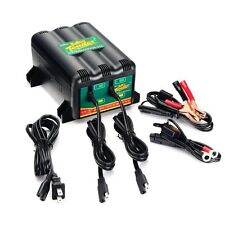Deltran Battery Tender Plus 12V 2 Bank Battery Charger System 2-Bank 022-0165