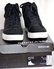 Supra Skytop Black Snake/Nyloon Muska 001 Skate S18250 Men's US 10 No Return