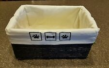 New MAIZE Pet Toy Storage Box Bin Dog Supplies Basket