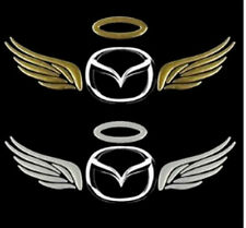 sale Mazda Bongo MX5 Dome Angel Wings Car Sticker Decal Badge Golden Chrome new
