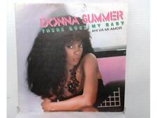 """DONNA SUMMER - THERE GOES MY BABY - SINGLE 7"""" - ESPAÑA -1984 - (EX/NM - EX/NM)"""