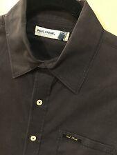 Paul Frank Men's Small Black Slim Button-Down Shirt Was $110