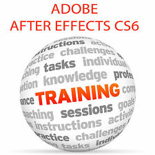 Adobe After Effects cs6-Video formazione tutorial DVD