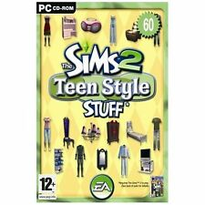 THE SIMS 2 TEEN STYLE STUFF EXPANSION PACK PC CD-ROM boxed + manual all mint!