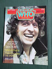 DOCTOR WHO MAG - NO 80 - SEPT