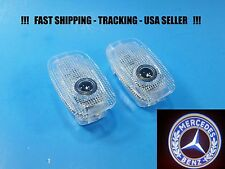 2 LED Door Step Courtesy Shadow Laser Holo Light for Mercedes S Class W221&W216