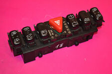 MERCEDES E CLASS W210 E320 CDI CENTRAL LOCK HAZARD ESP SWITCHES 210 820 01 51