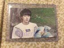 BTS 2nd Muster Goods Jin #5 Photo Card Bangtan Boys Official Top Loader