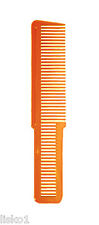 Wahl #3191 FLAT TOP BARBER'S Hair Cutting COMB (ORANGE)