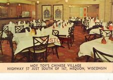 MOY TOY'S CHINESE VILLAGE Highway 57 MEQUON, WISCONSIN