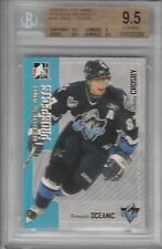BGS 9.5 SIDNEY CROSBY 2005/06 ITG In The Game HEROES & Prospects ROOKIE CARD!