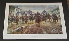 Mort Kunstler- The Race Down Chester Street - Collectible Civil War Print