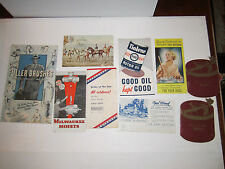 LOT OF 18 VINTAGE ADVERTISING: NEIMAN MARCUS, MY T FINE DESSERTS & MORE - TUB CC