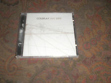 COLDPLAY LIVE 2003 SEALED CD ALBUM.