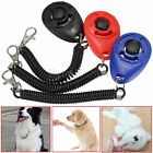 Pet Dog Puppy Cat Obedience Training Clicker Click Button Trainer With Band Belt