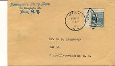 U.S. #820- 15c BUCHANAN-PLATE # SINGLE- COMMERCIAL COVER. FROM STAMP DEALER