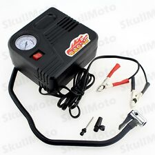 12V Car Motorcycle Motor Bike Compact Mini Tyre Air Compressor Inflator Pump