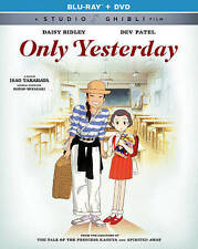 Only Yesterday (Blu-ray/DVD, 2016, 2-Disc Set, Canadian)