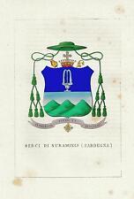 Araldica Stemma araldico della famiglia Serci di Nuraminis Sardegna