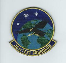 46th TEST SQUADRON (WITH VELCRO)(UNIT'S LATEST) patch