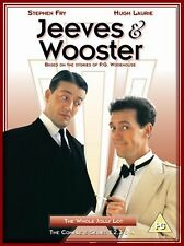 Jeeves And Wooster: The Complete Series 1-4 Brand New DVD