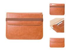 """MacBook Pro 13"""" Premium Leder Case Luxus Leder Tasche, Ultrabook in Braun"""