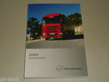 Betriebsanleitung Owner's Manual Mercedes Benz LKW Truck Actros MP3, Stand 2010