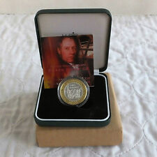 2004 TREVITHICK STEAM LOCOMOTIVE £2 SILVER PROOF - boxed/coa/outer